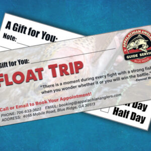 float trip gift certificate